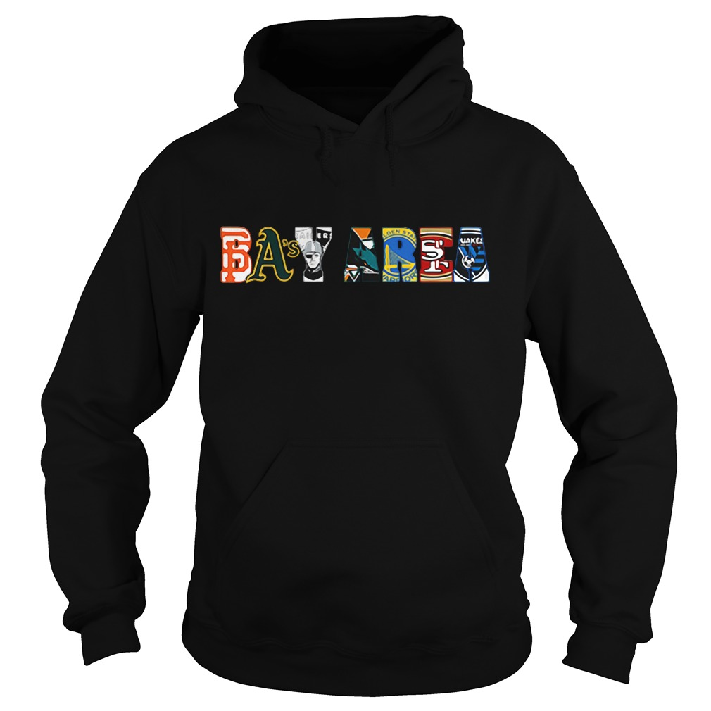 Cute Bay Area all star scholarship team logo Hoodie