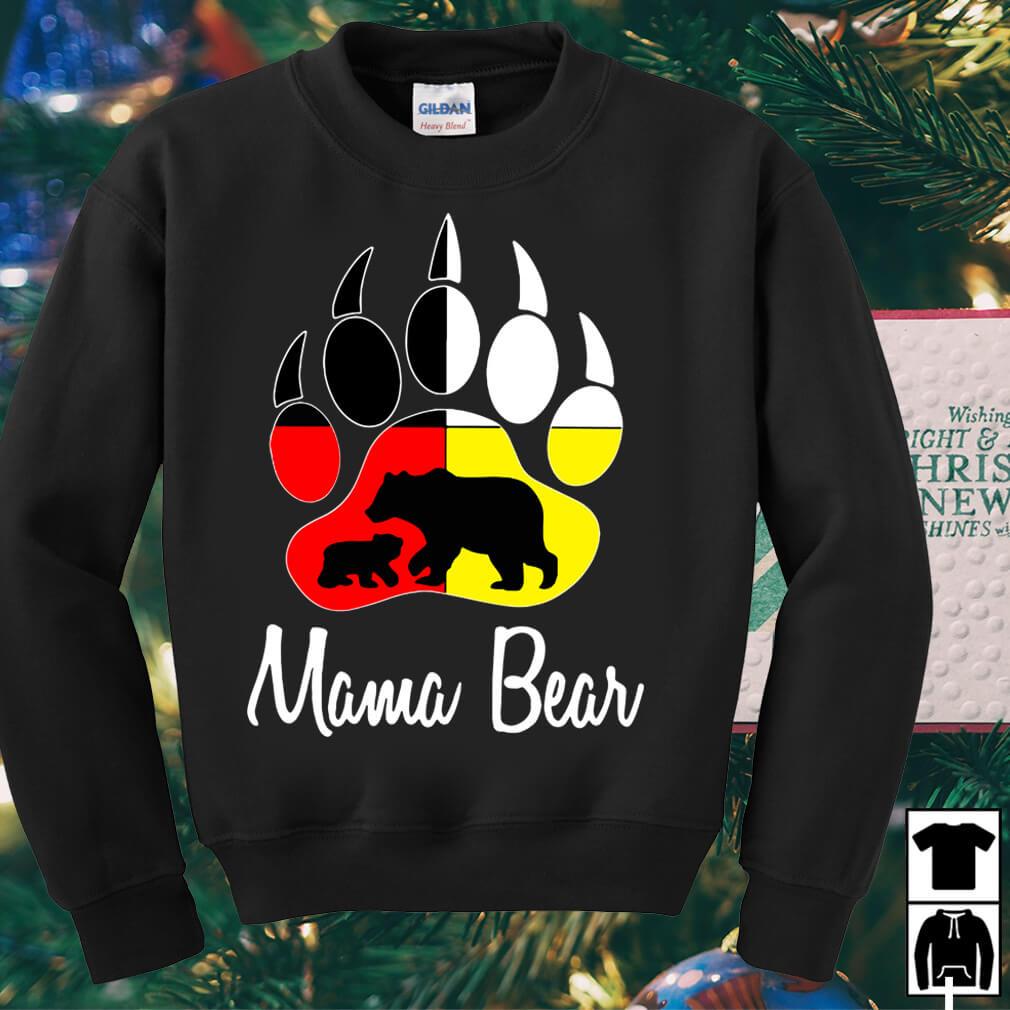 Bear paw Mama Bear shirt
