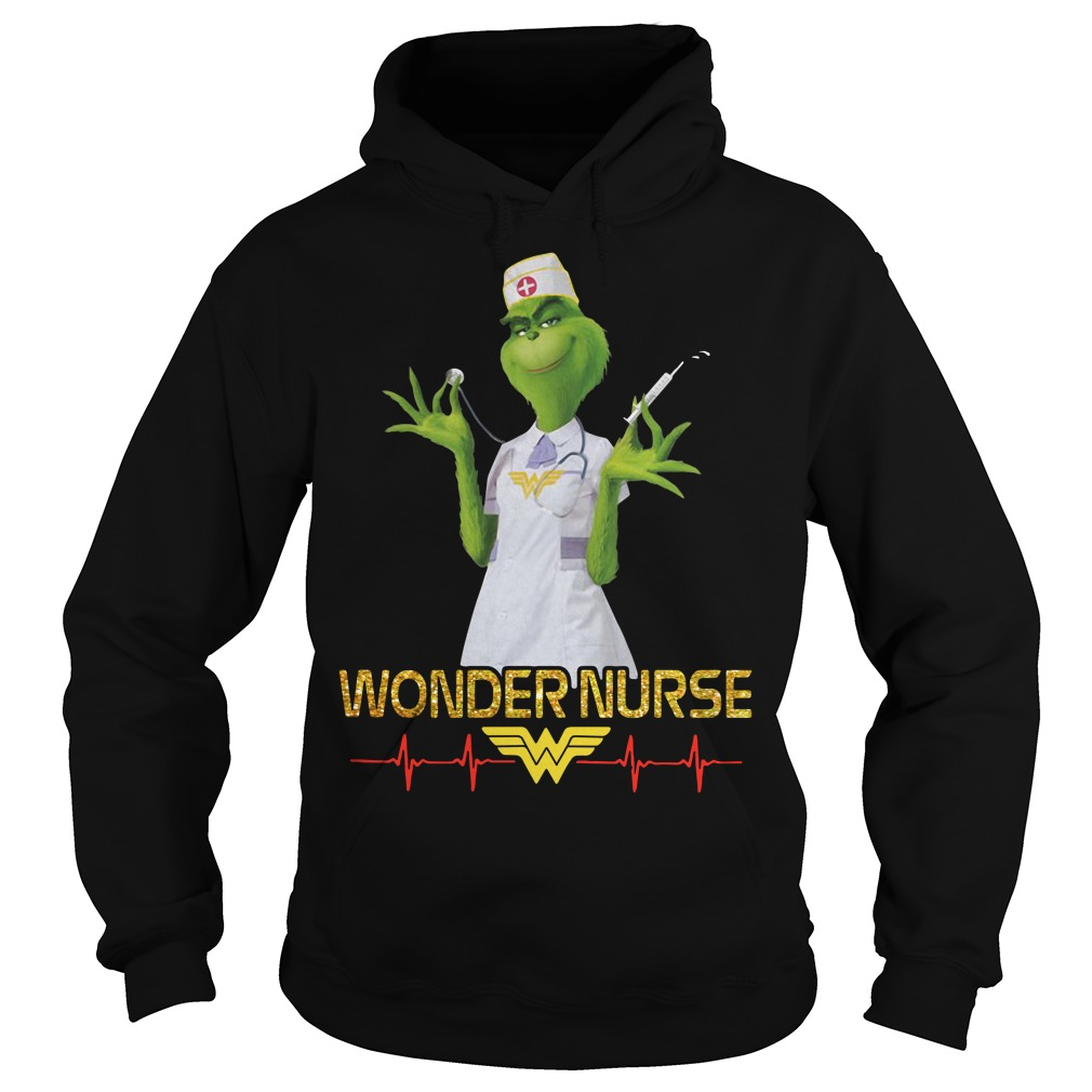 Beauty's Grinch wonder nurse Hoodie