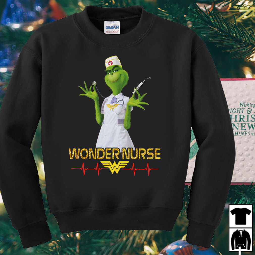 Beauty's Grinch wonder nurse shirt