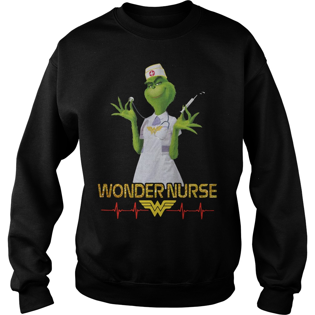 Beauty's Grinch wonder nurse Sweater