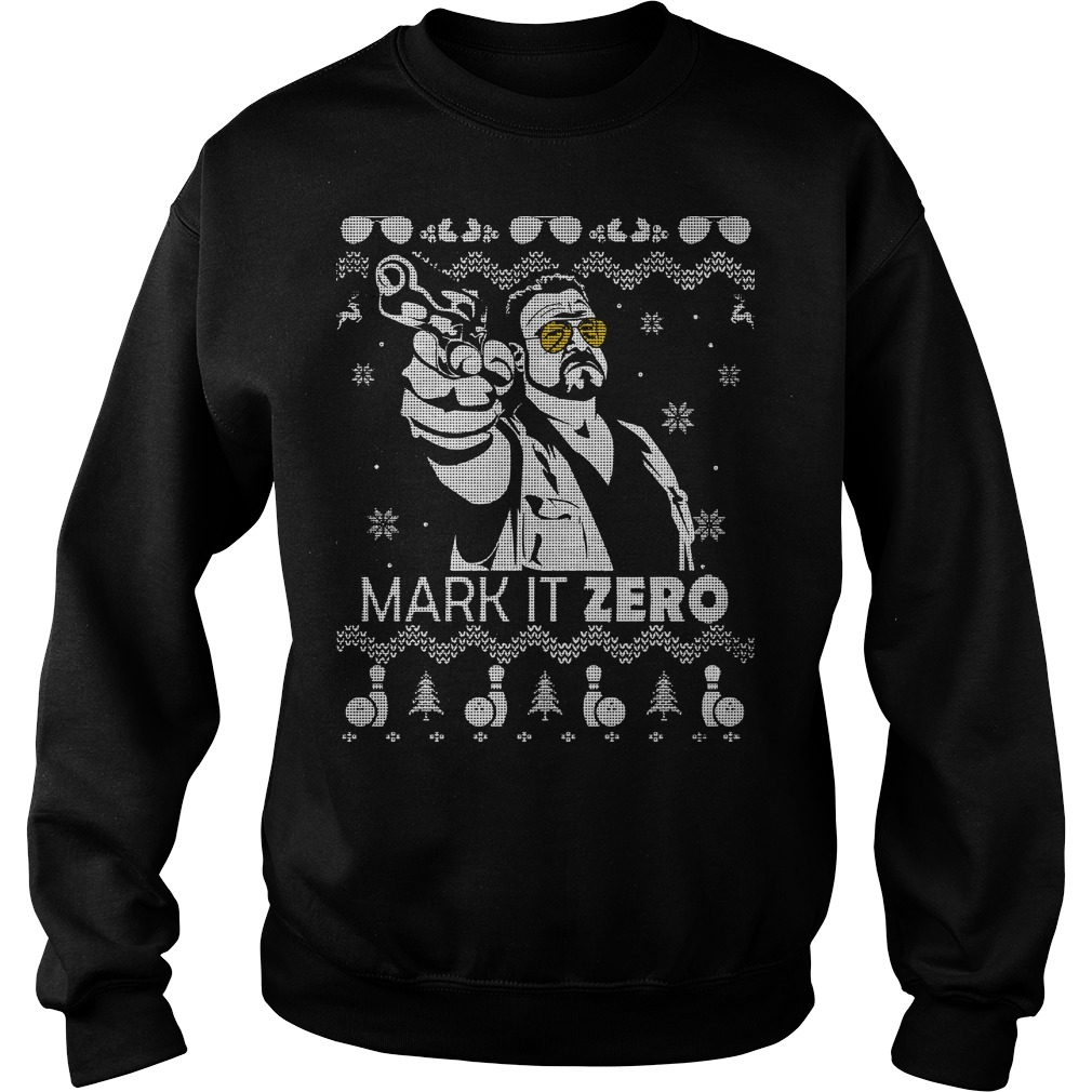 The Big Lebowski Mark it zero Christmas Sweater