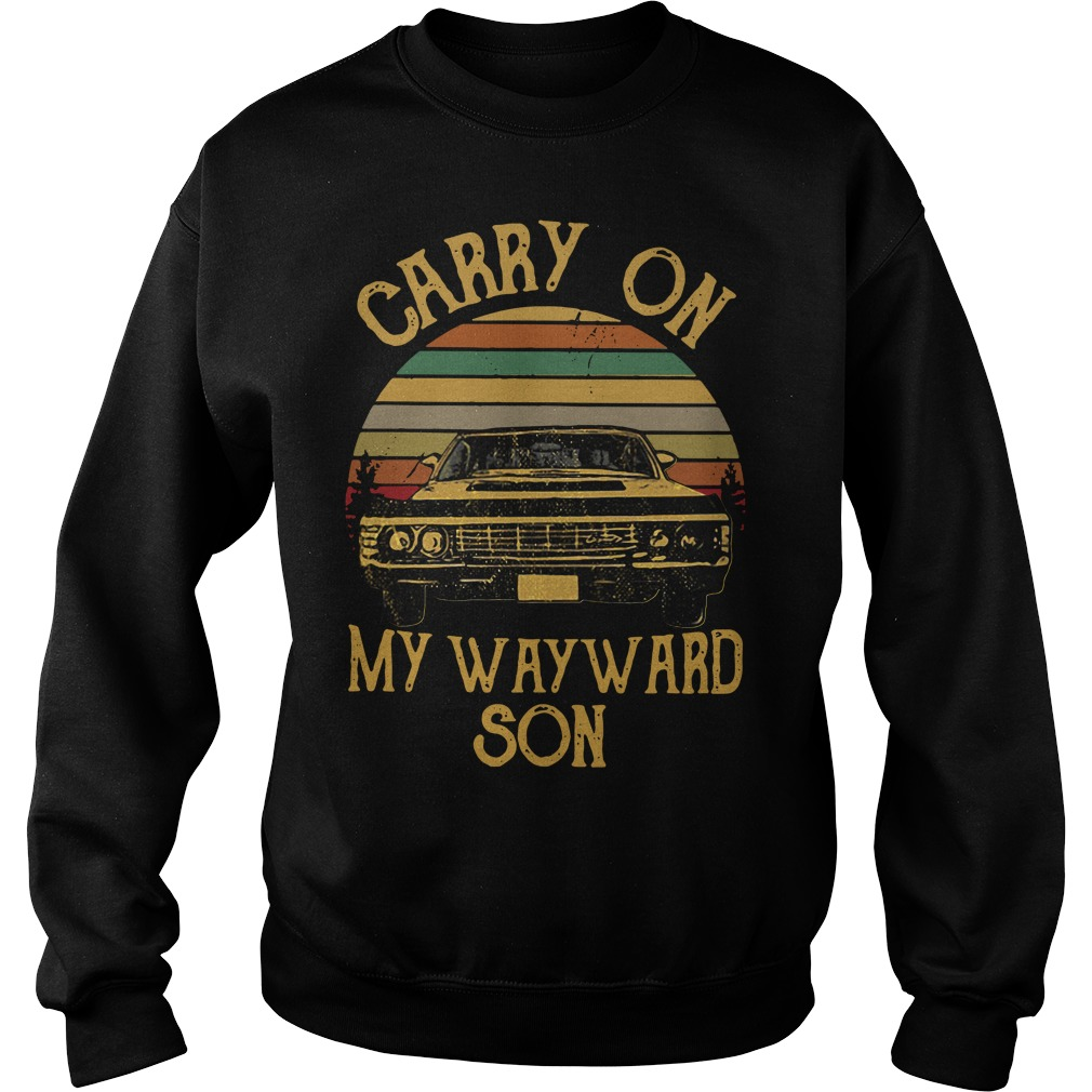 Carry on my wayward son vintage Sweater