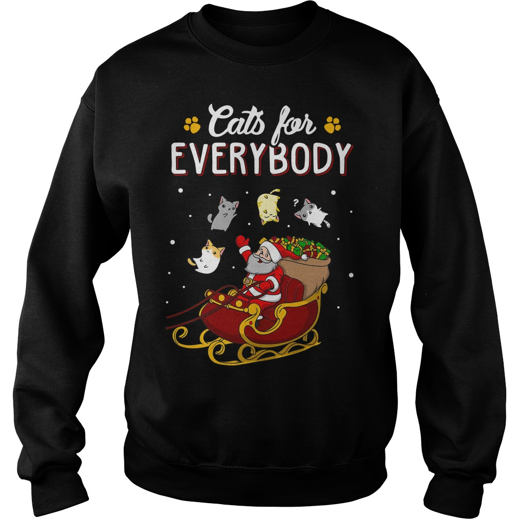 Cats for everybody ugly Christmas Sweater