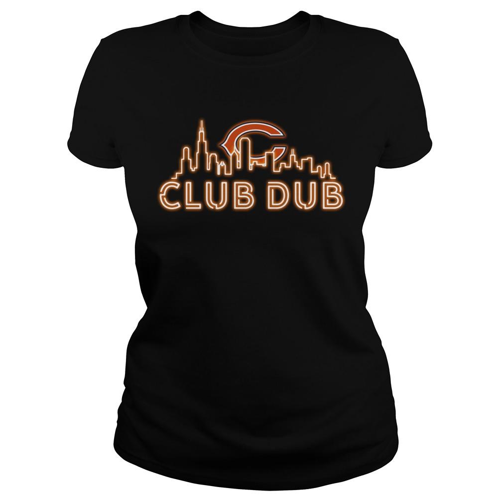 Chicago Bears club dub Ladies Tee