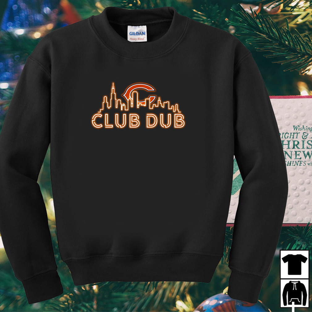 Chicago Bears club dub shirt