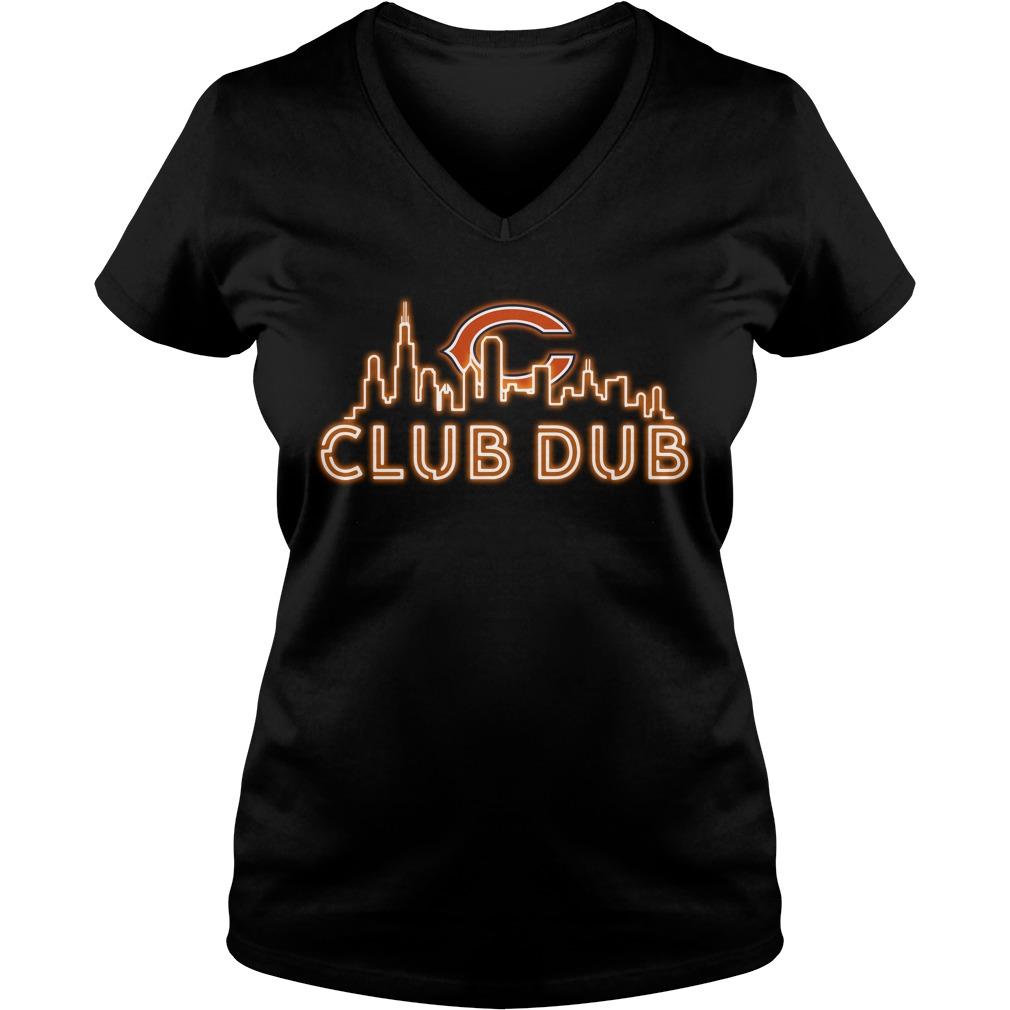 Chicago Bears club dub V-neck T-shirt