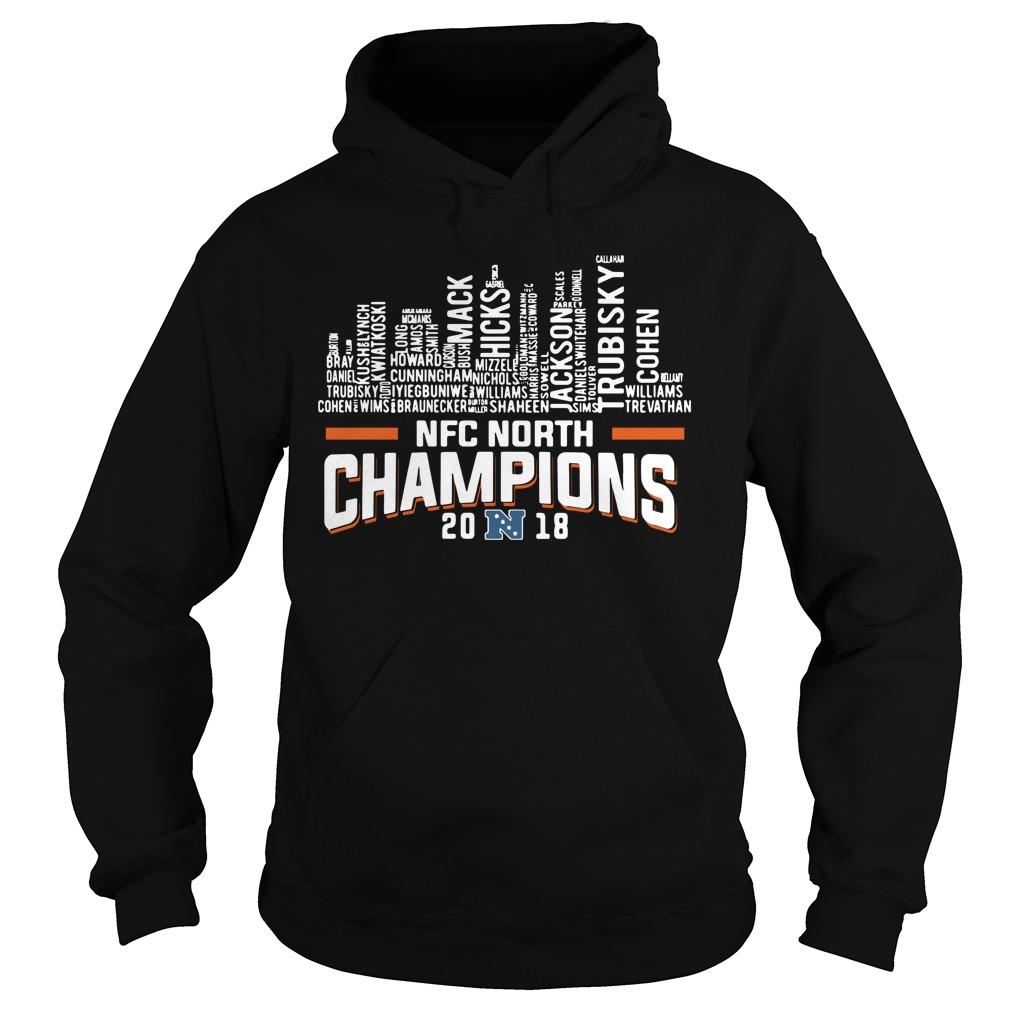 Chicago Bears NFC north champions 2018 Hoodie