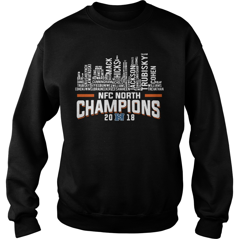 Chicago Bears NFC north champions 2018 Sweater