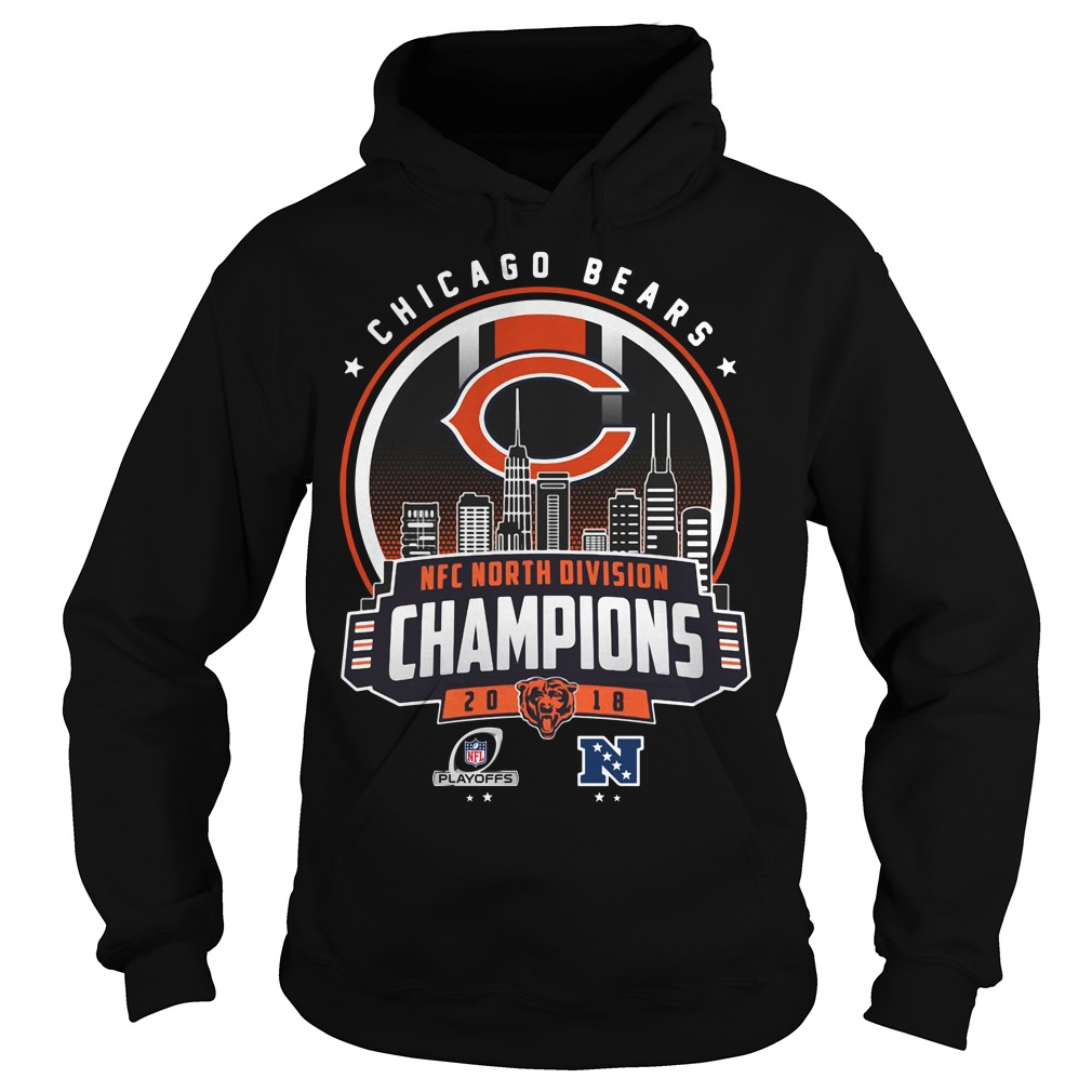 Chicago Bears NFC north division champions 2018 Hoodie