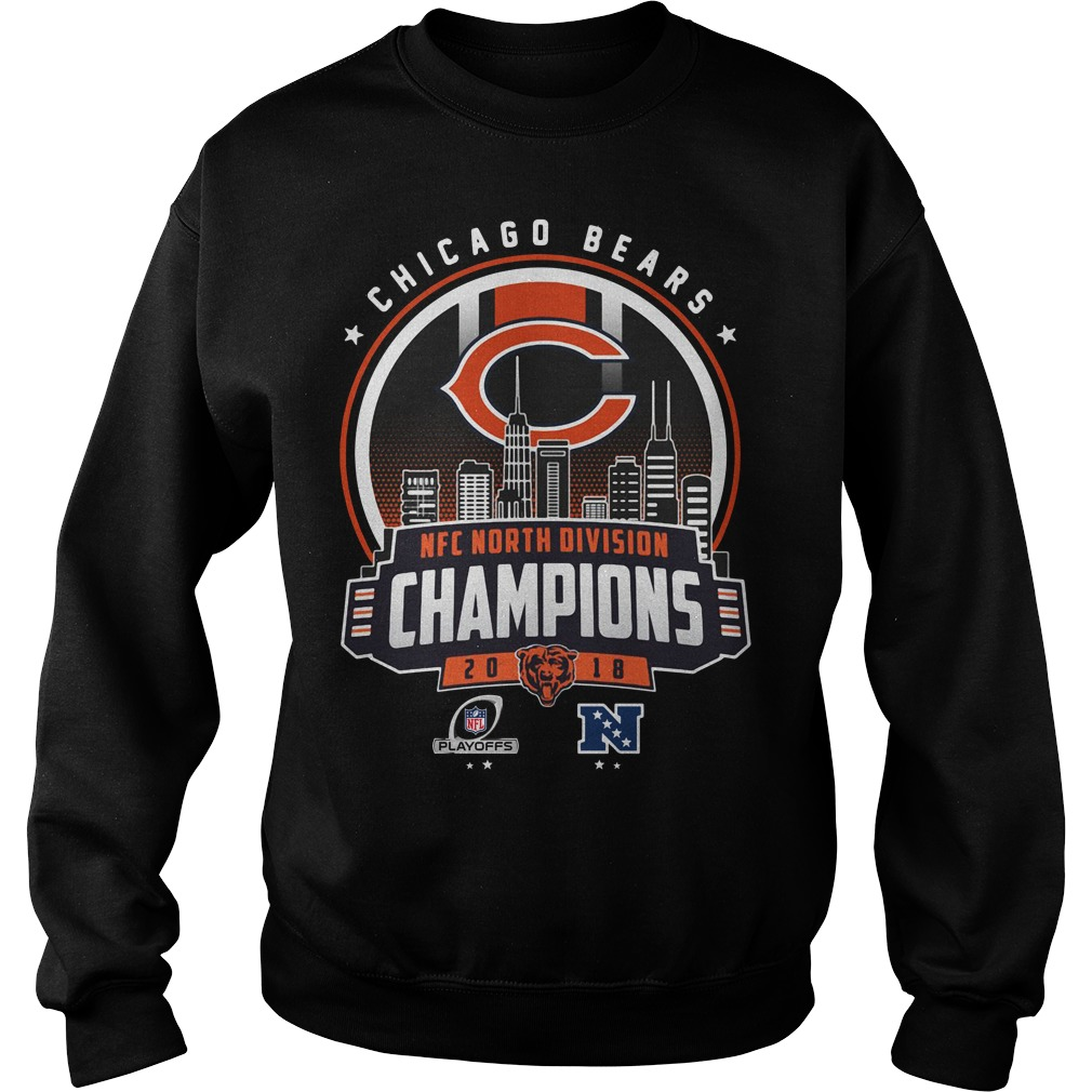 0d2c00d17 Chicago Bears NFC north division champions 2018 shirt - pminh0342 s ...