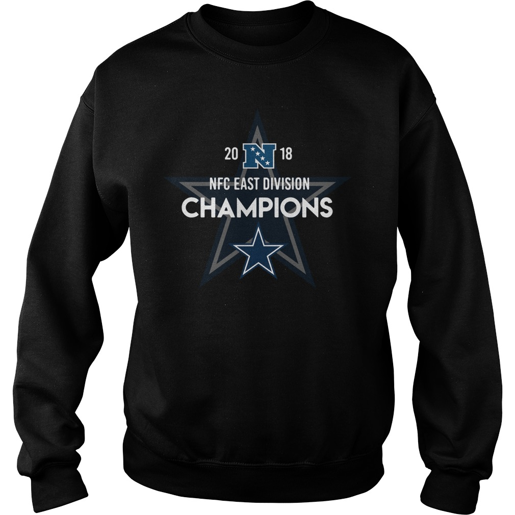Dallas Cowboys 2018 NFC east division Champions Sweater