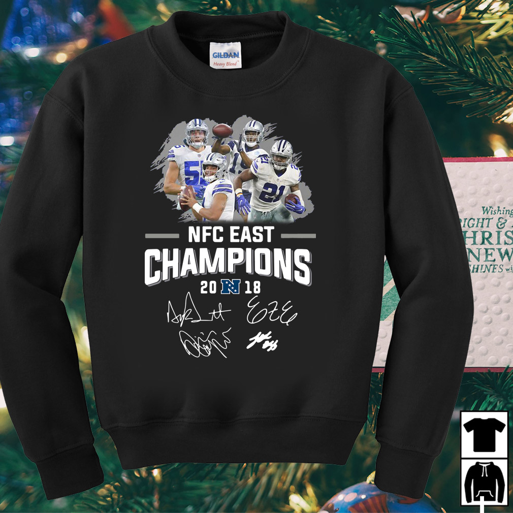 Dallas Cowboys NFC East champions 2018 shirt