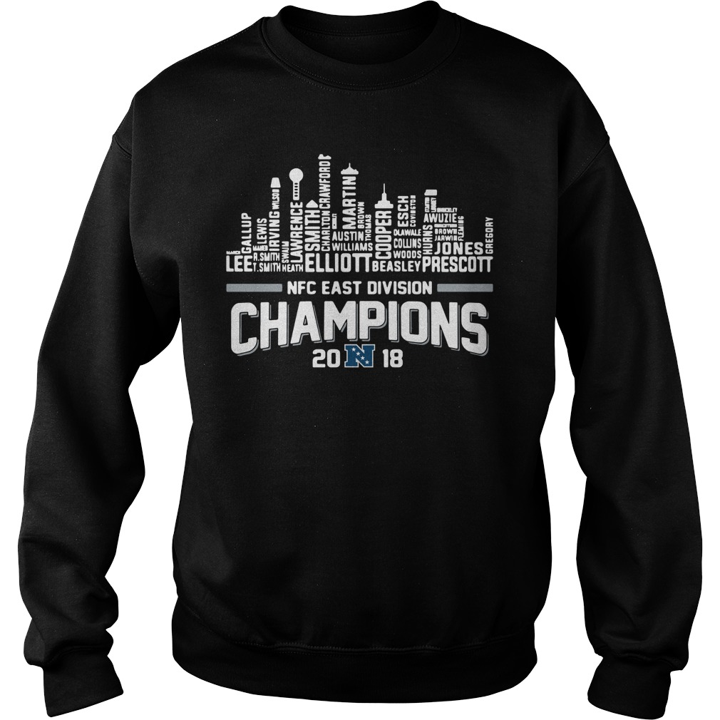 Dallas Cowboys NFC East division champions 2018 Sweater