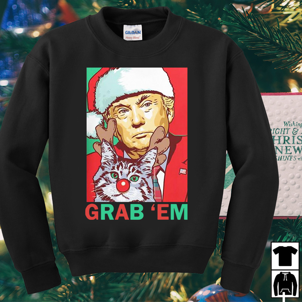 Donald Trump Grab 'em by the Pussy Christmas sweater