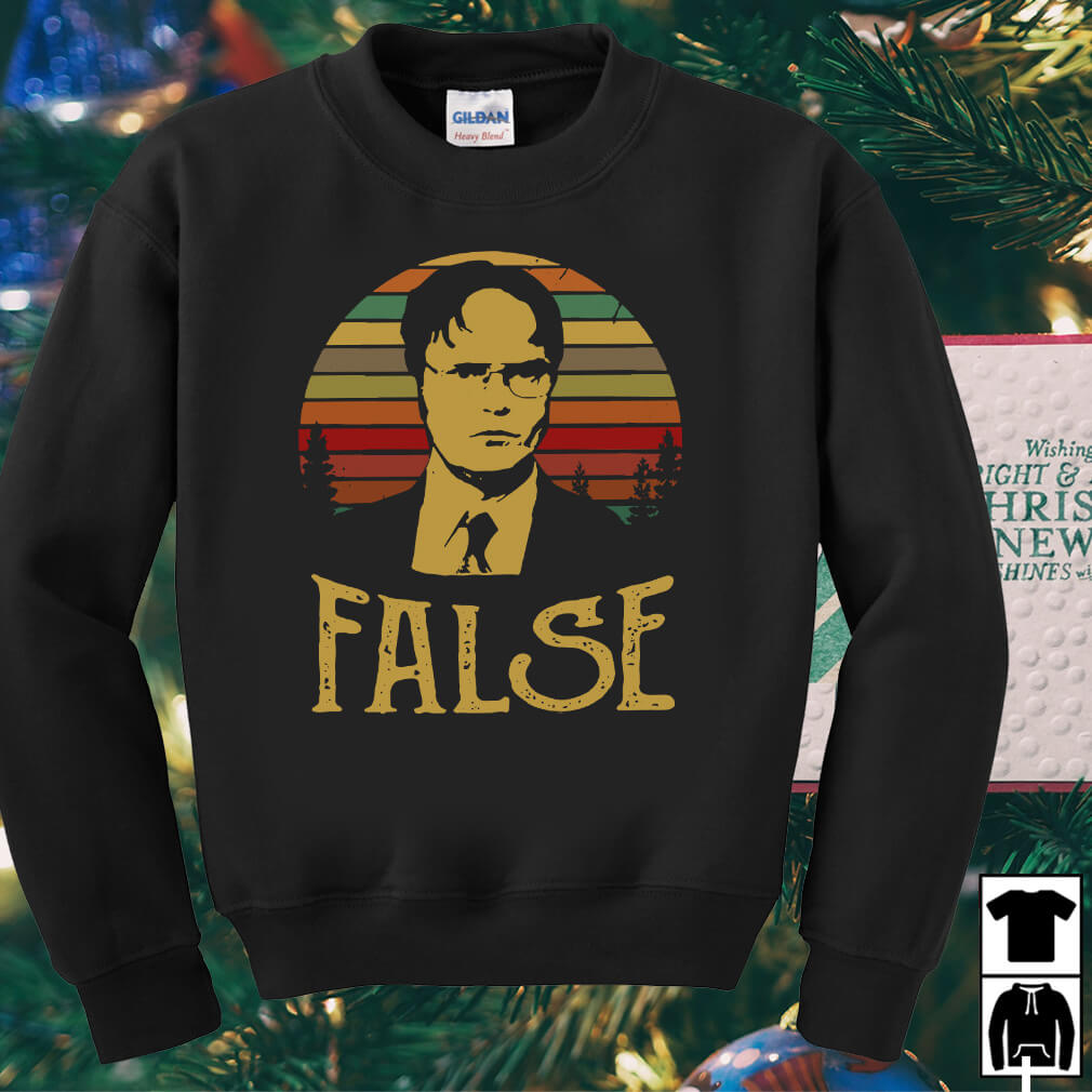 Dwight Schrute false vintage shirt