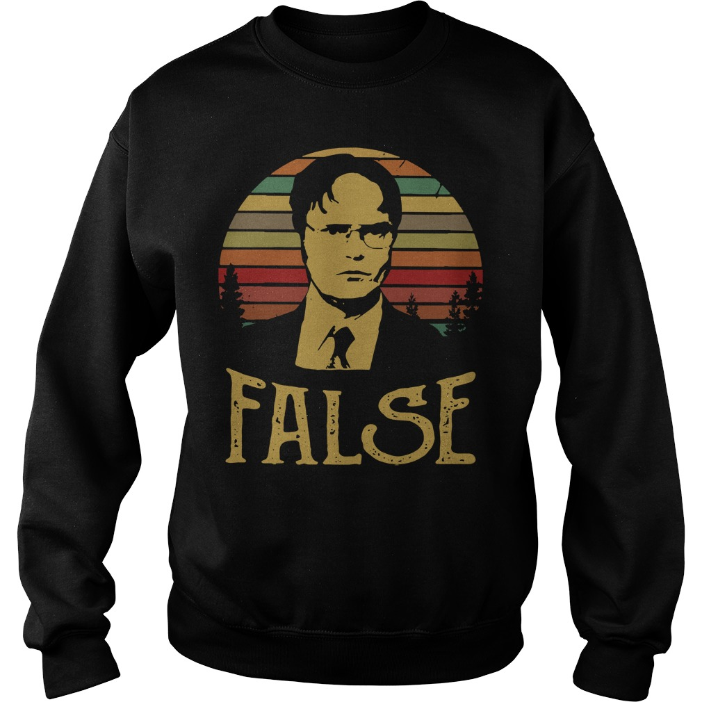 Dwight Schrute false vintage Sweater