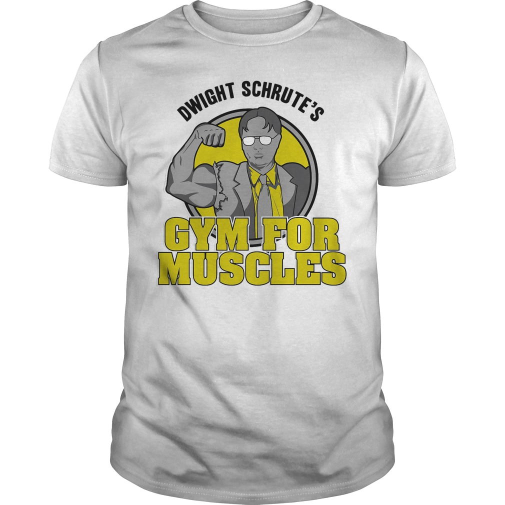 Dwight Schrute's gym for muscles Guys shirt