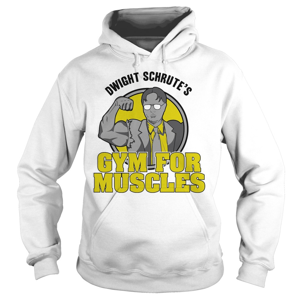 Dwight Schrute's gym for muscles Hoodie