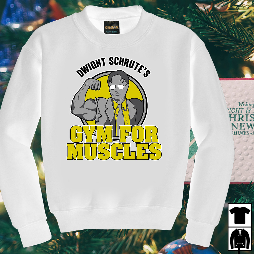 Dwight Schrute's gym for muscles shirt