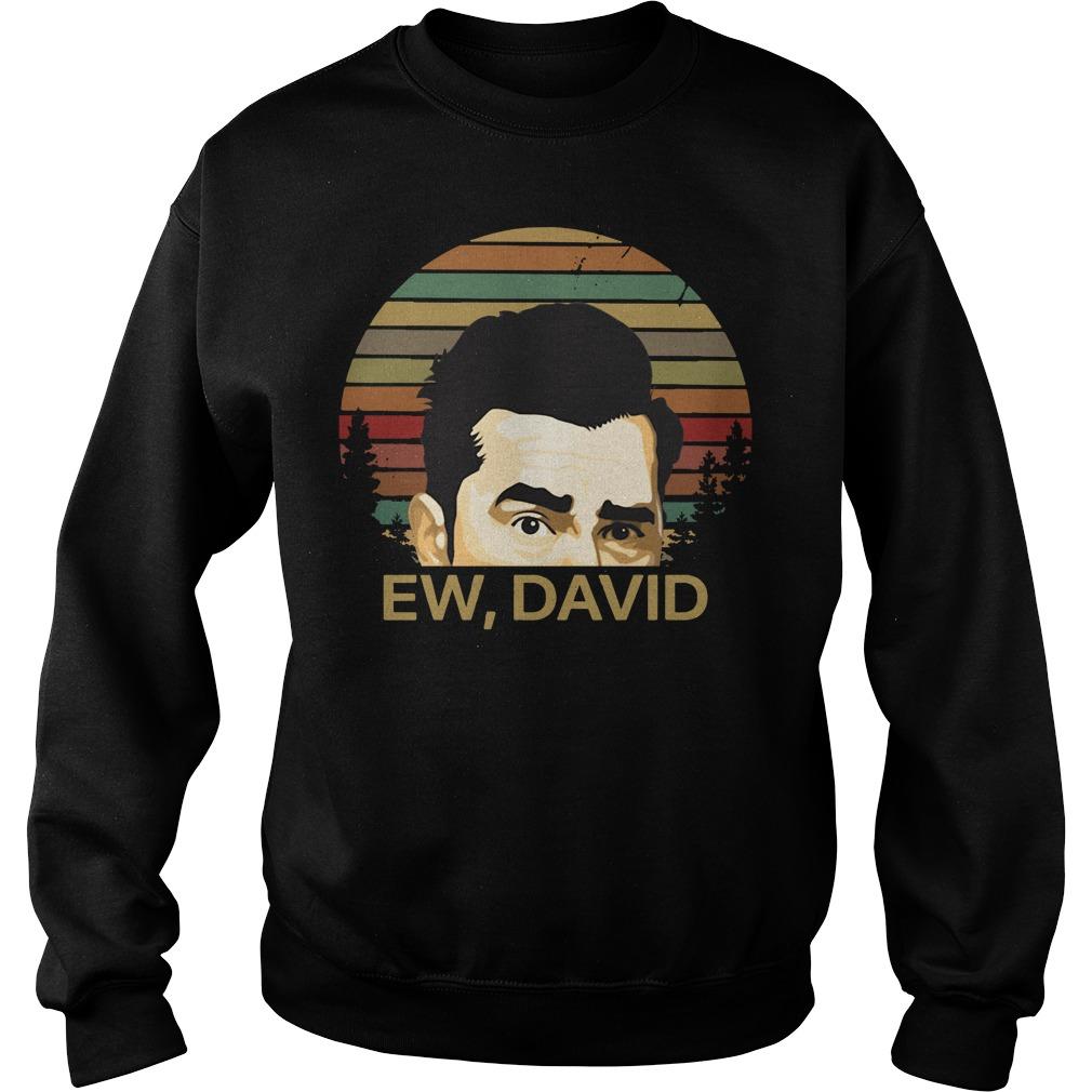 Ew David Schitts Creek vintage Sweater