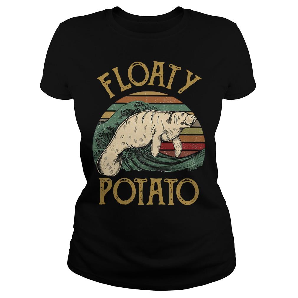 Floaty potato surf vintage Ladies Tee