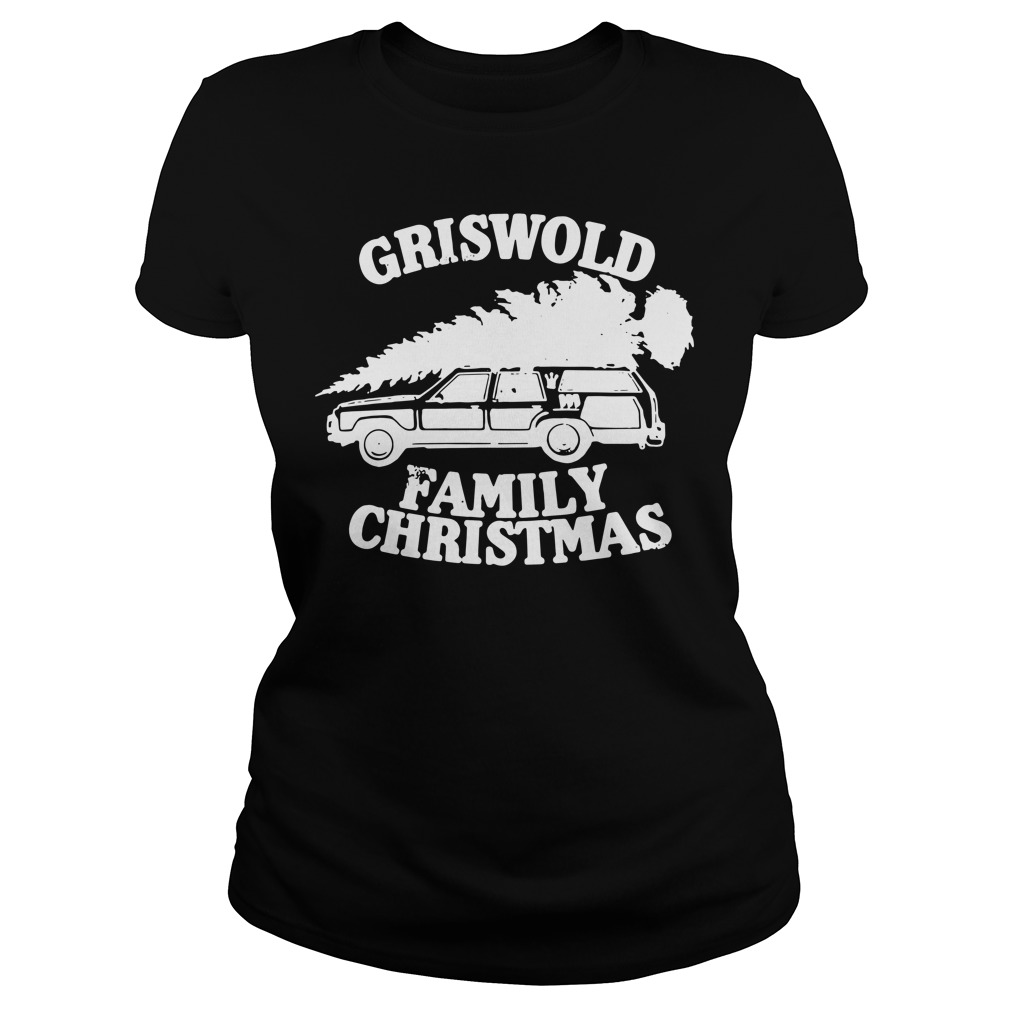 Griswold Family Christmas Ugly Ladies Tee