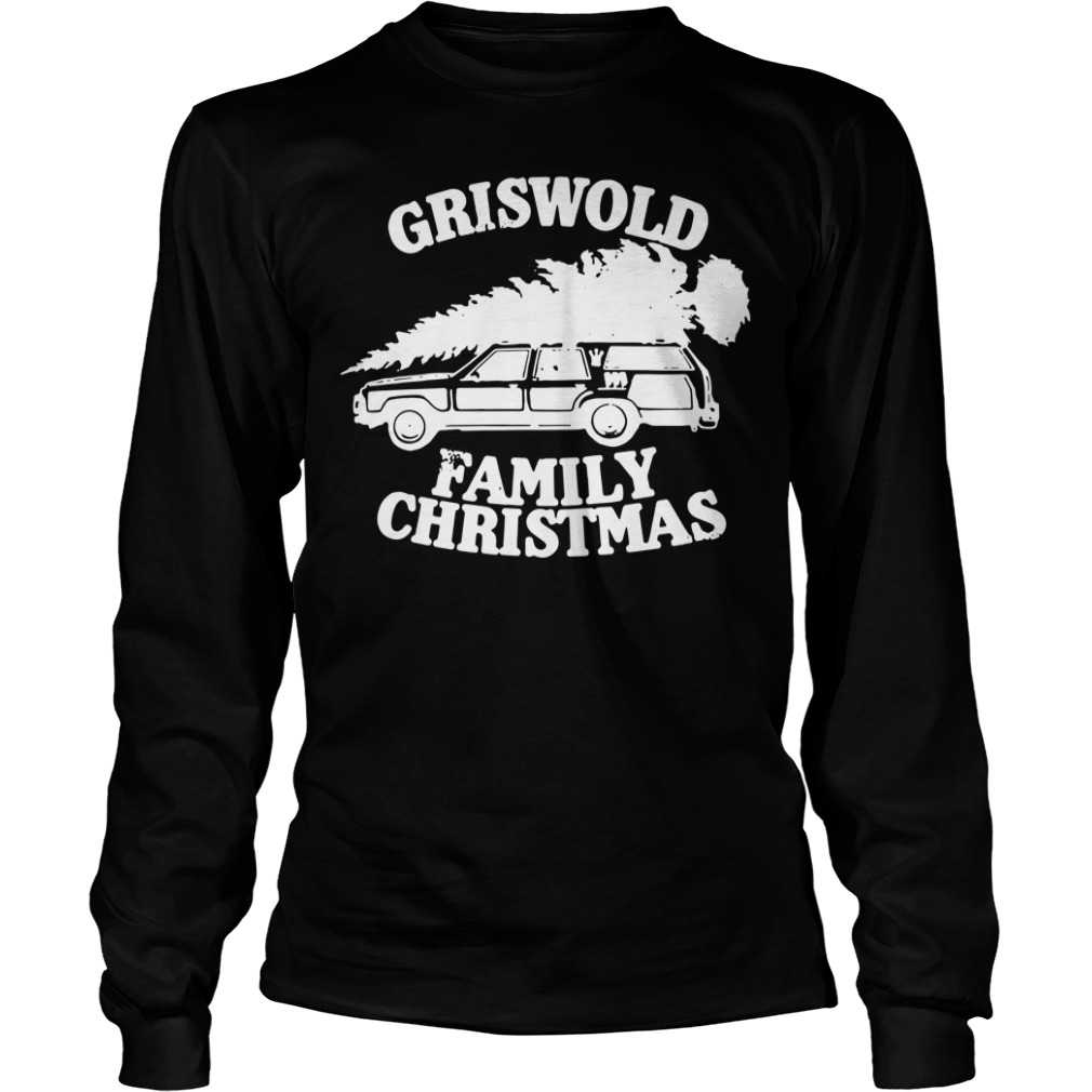 Griswold Family Christmas Ugly Longsleeve tee