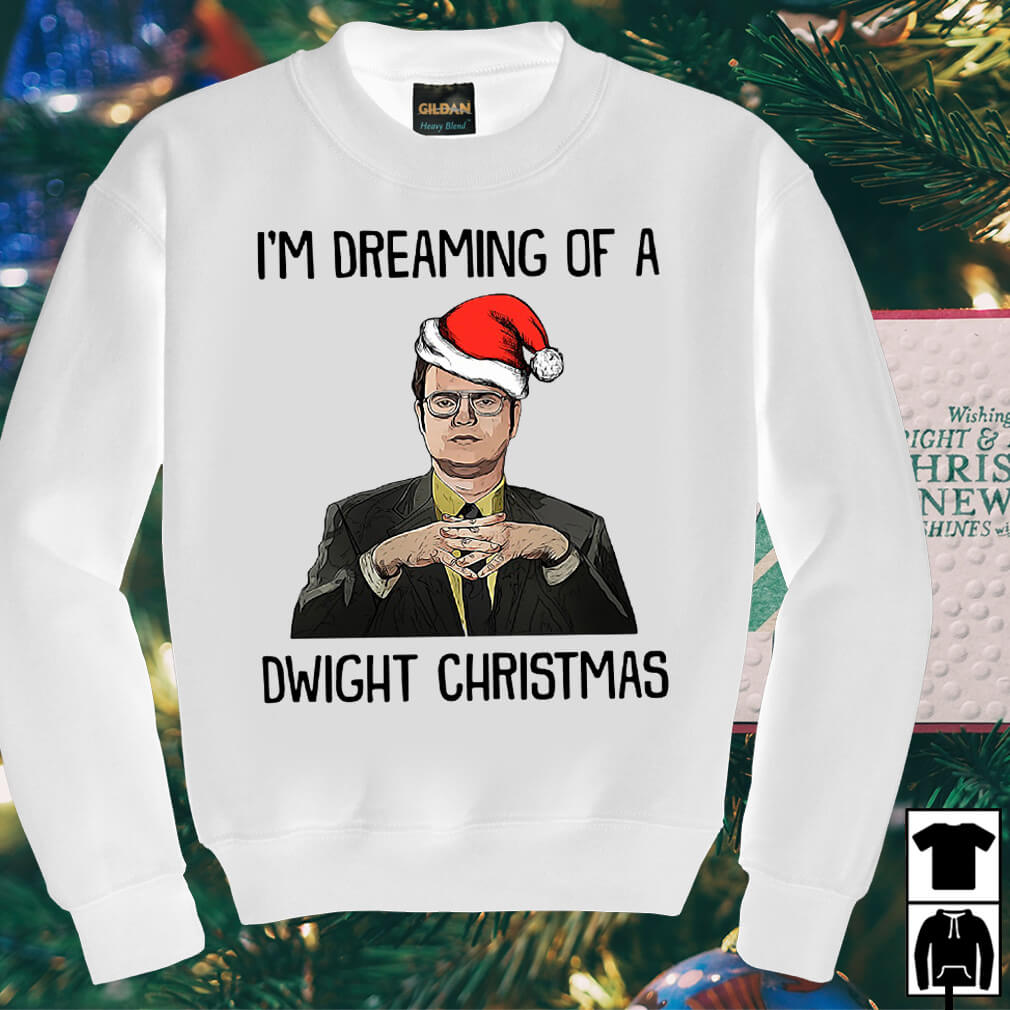 I'm dreaming of a Dwight Christmas sweater