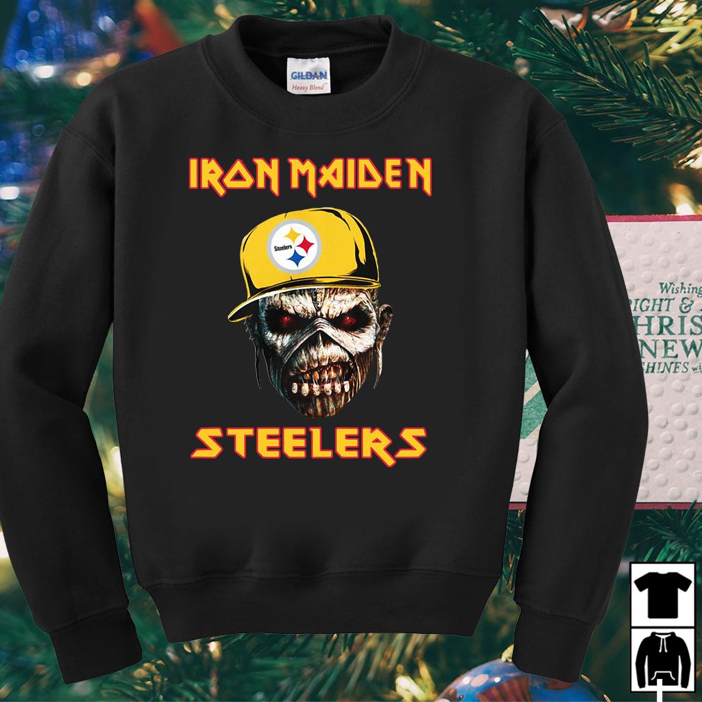Iron Maiden Pittsburgh Steelers shirt