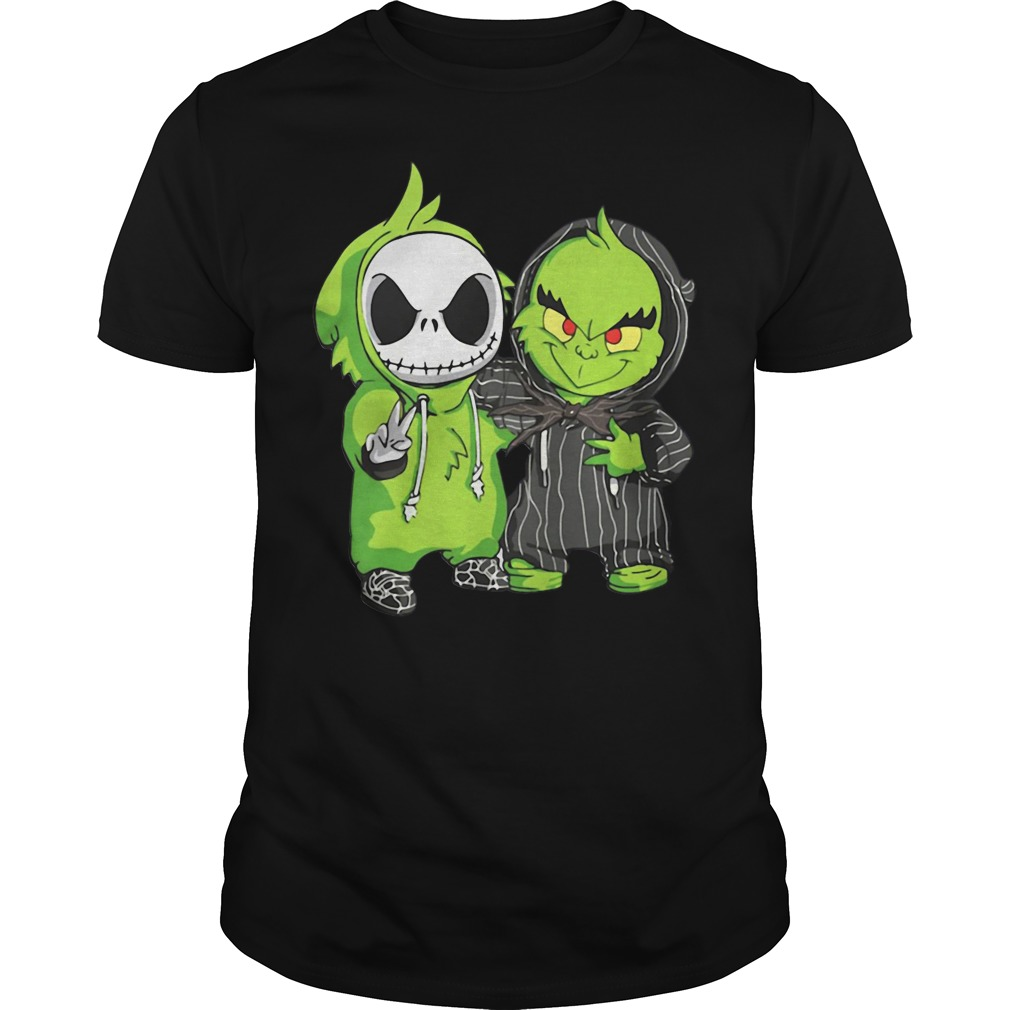 Jack Skellington and Grinch we are best friends Guys Shirt