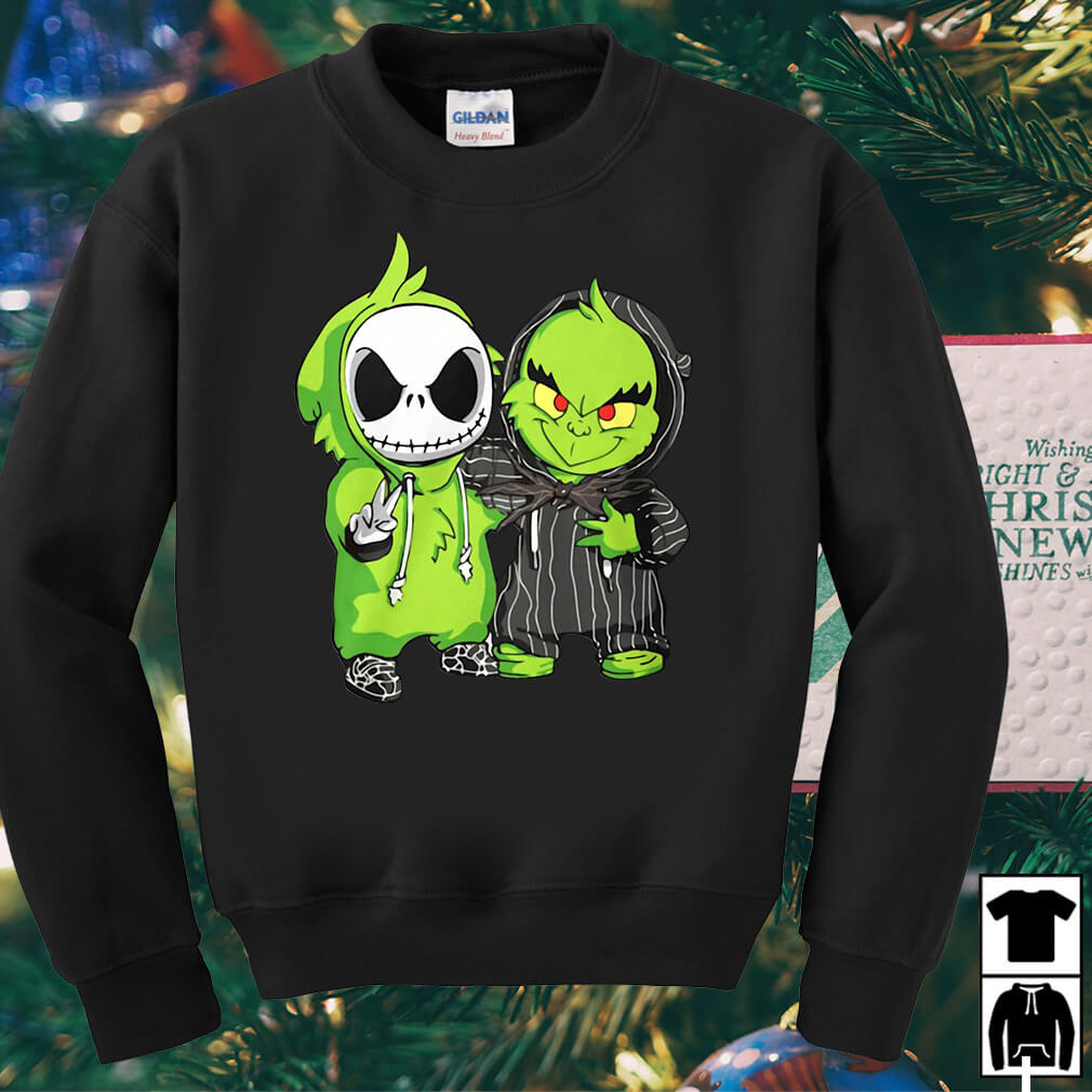 Jack Skellington and Grinch we are best friends shirt