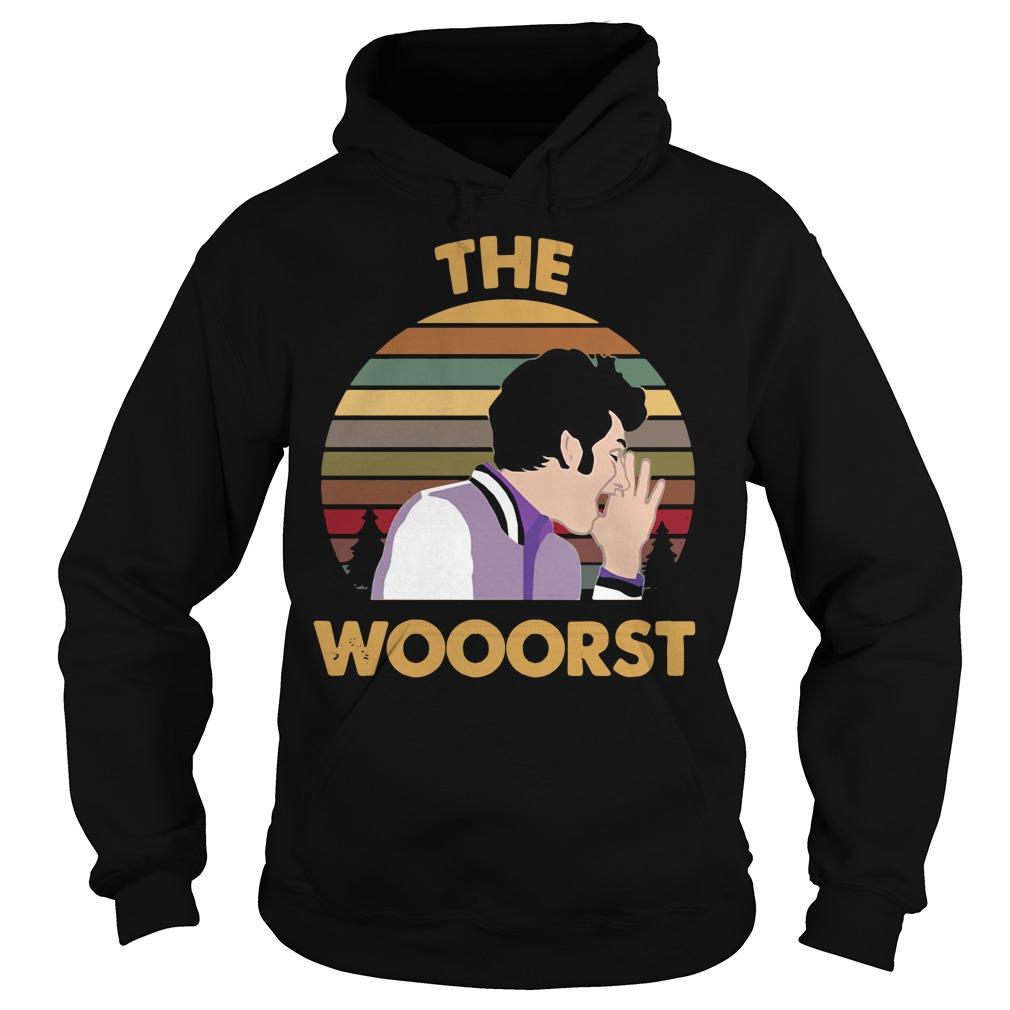 Jean Ralphio the wooorst vintage Hoodie
