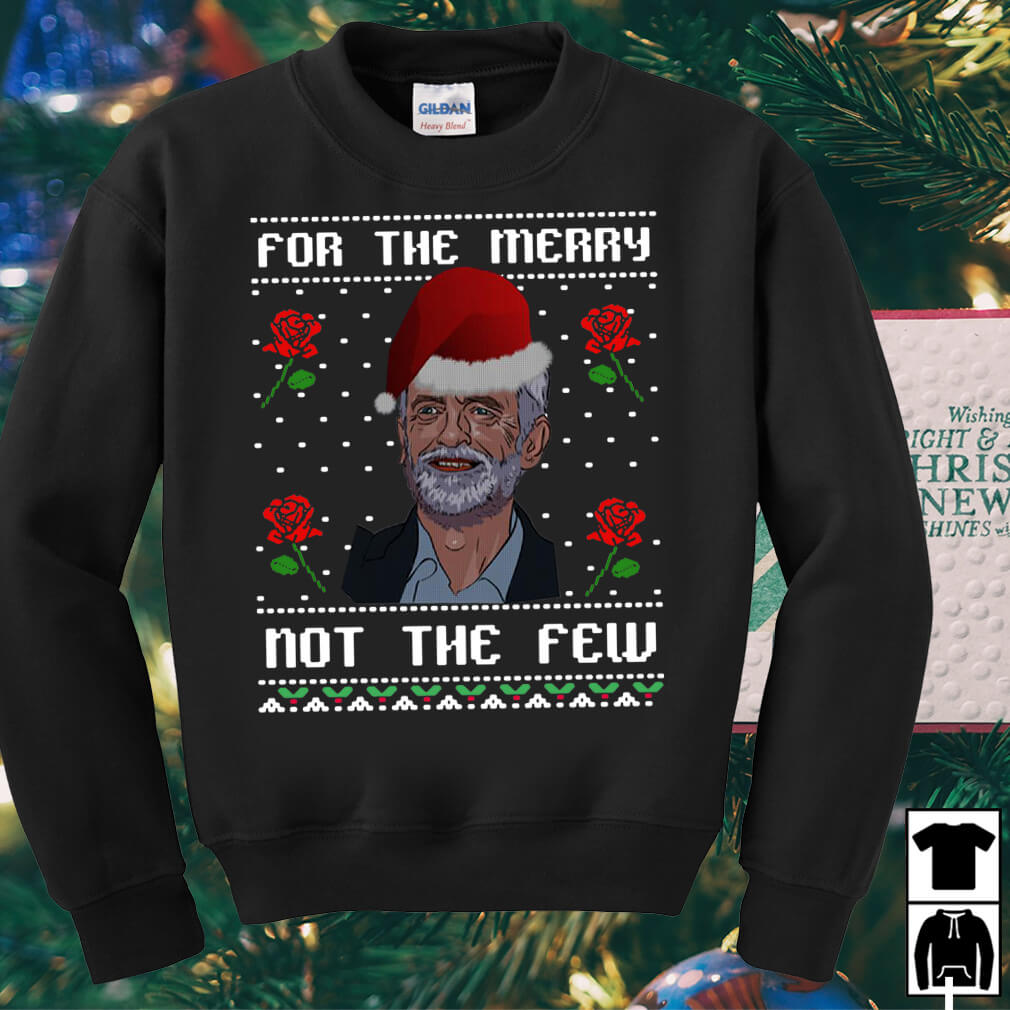 Jeremy Corbyn For The Merry Not The Few Christmas sweater