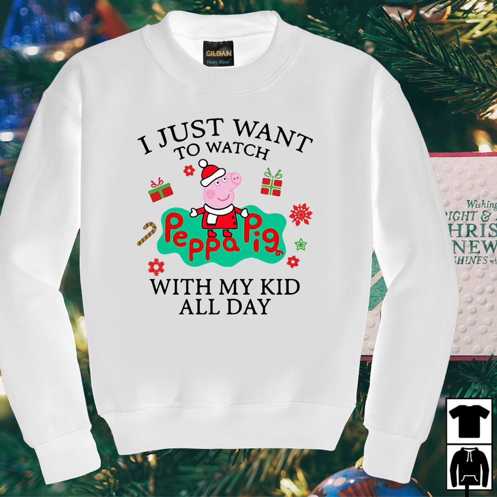I just want to watch Peppa Pig with my kid all day sweater