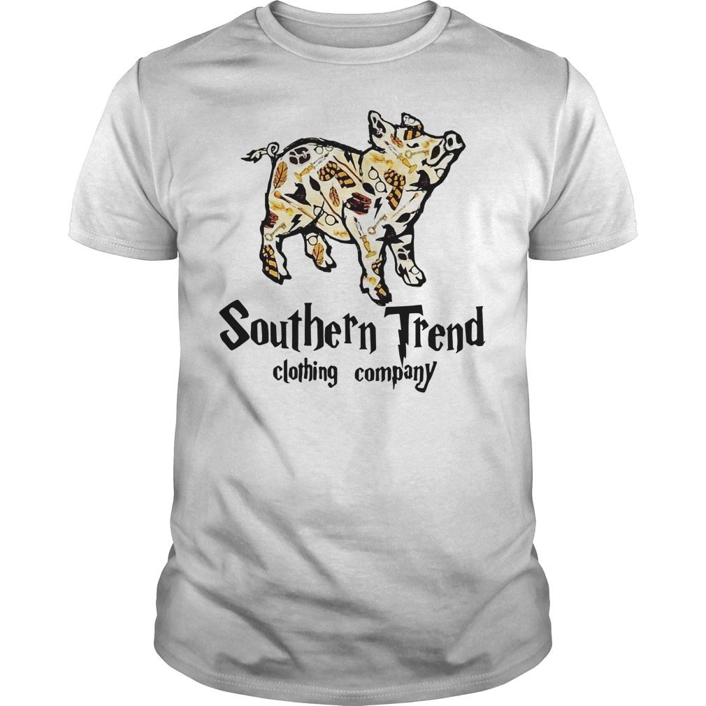 Magic Pig Harry Potter southern trend clothing company Guys Shirt