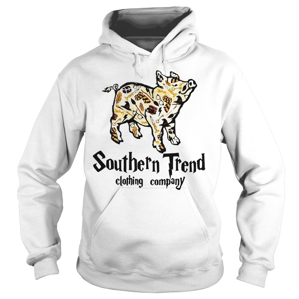 Magic Pig Harry Potter southern trend clothing company Hoodie