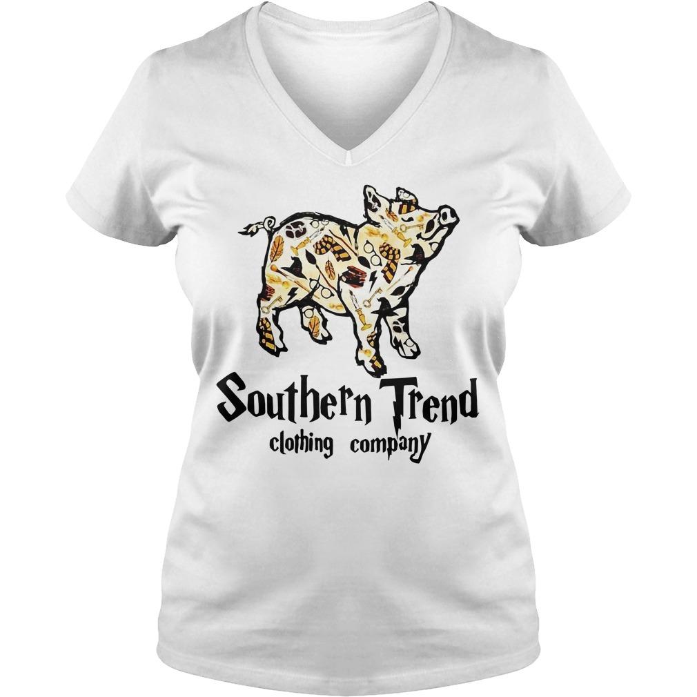 Magic Pig Harry Potter southern trend clothing company V-neck T-shirt