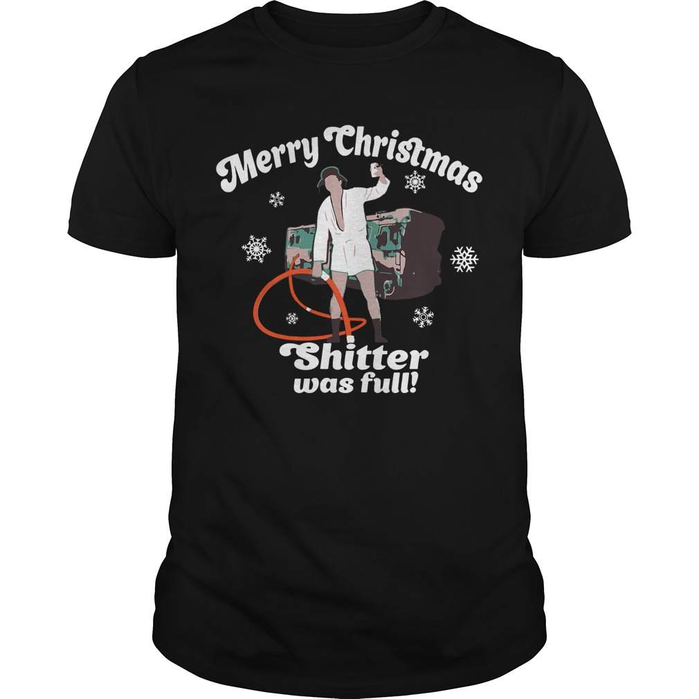 Cousin Eddie Merry Christmas Shitter was full Guys Shirt