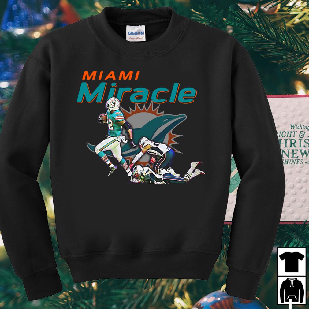 Miami Miracle Kenyan Drake game winning touchdown against shirt