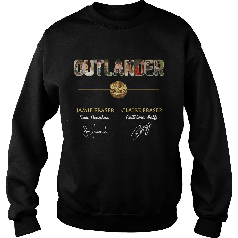 Outlander Jamie Fraser and Claire Fraser Sweater