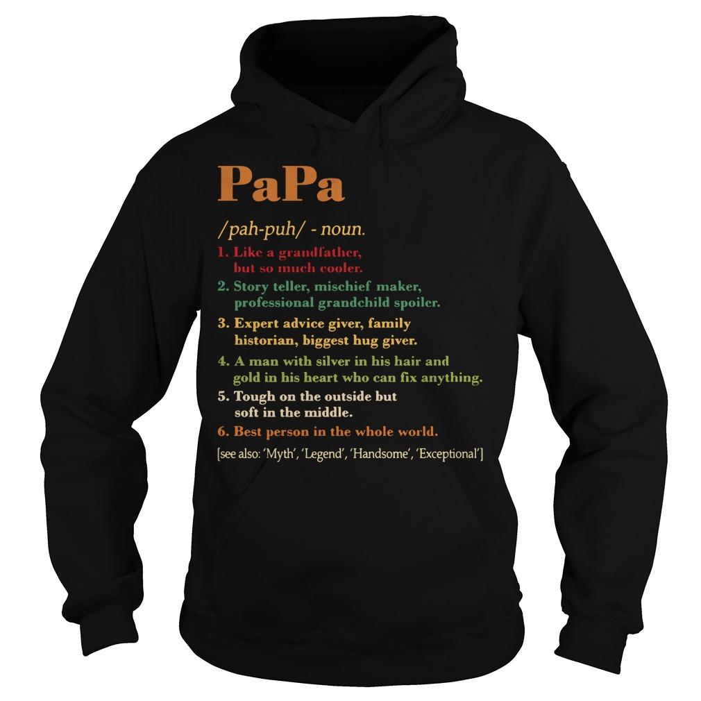 Papa definition meaning Hoodie