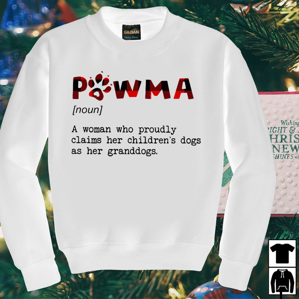 Pawma a woman who proudly claims her children's dogs as her shirt