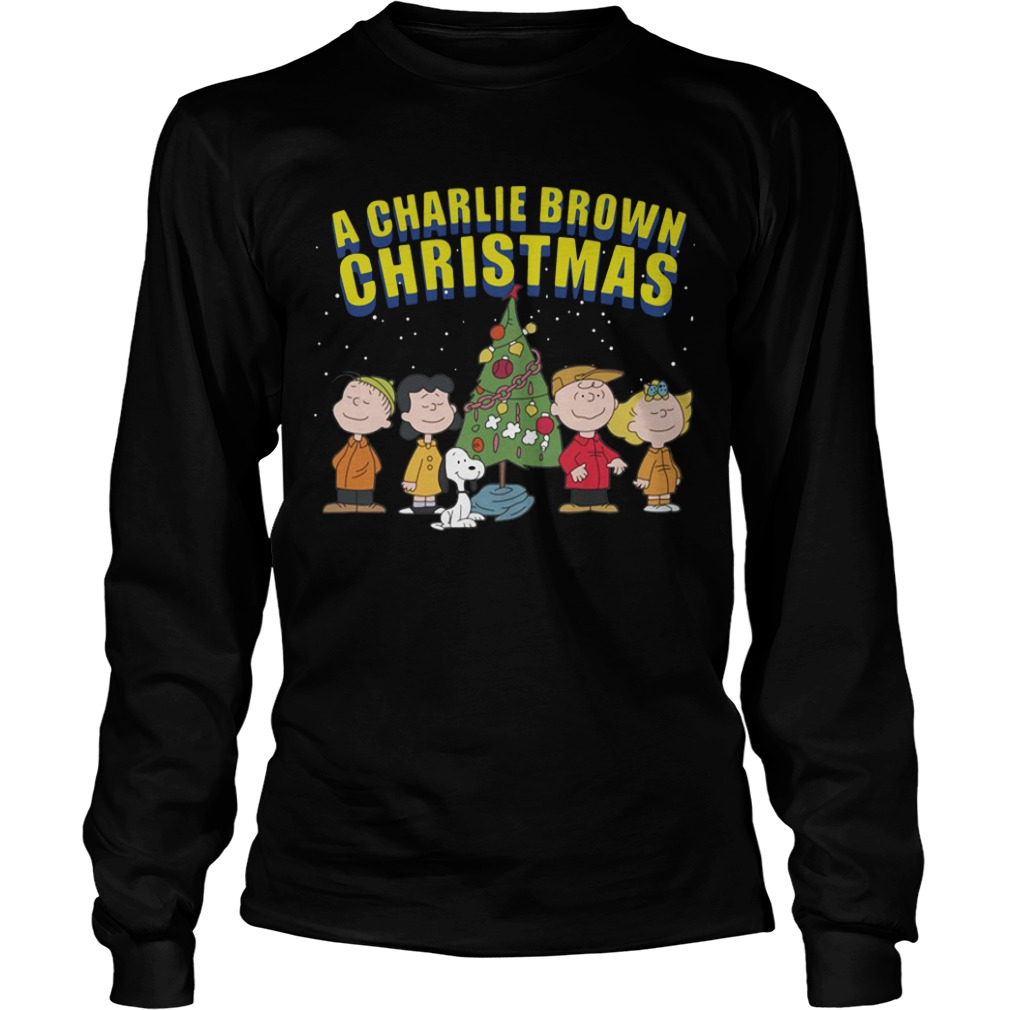 The Peanuts A Charlie Brown Christmas Ugly Sweater