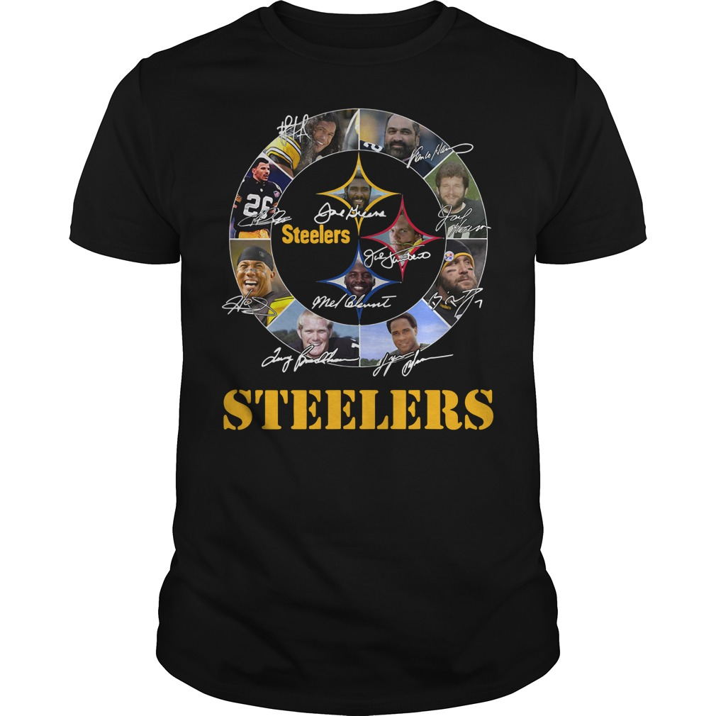Pittsburgh Steelers and all best players Guys shirt
