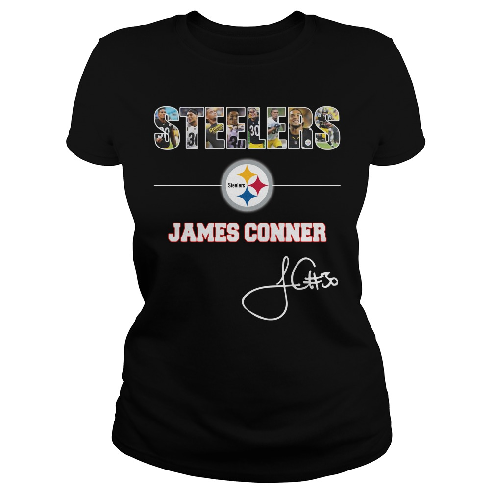 Pittsburgh Steelers James Conner Ladies Tee