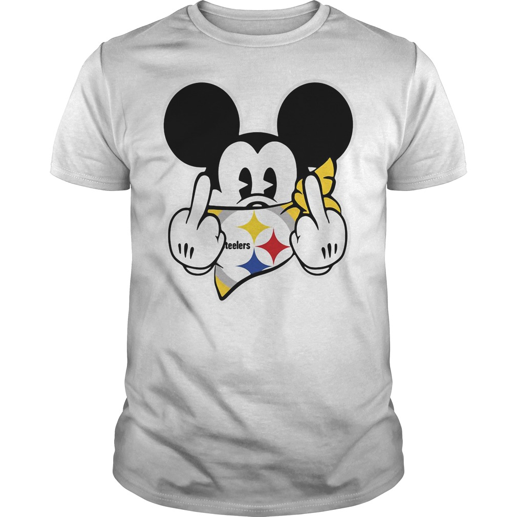 Pittsburgh Steelers Mickey Mouse fuck Guys Shirt