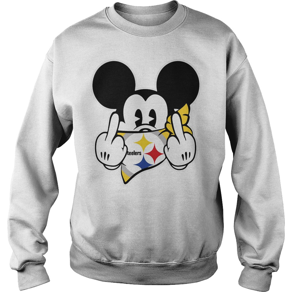 Pittsburgh Steelers Mickey Mouse fuck Sweater