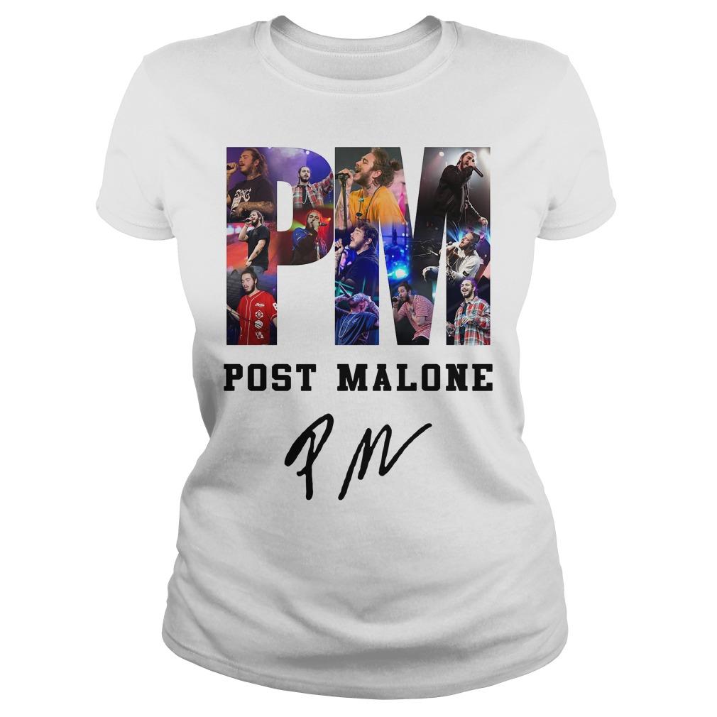 PM Post Malone Ladies Tee