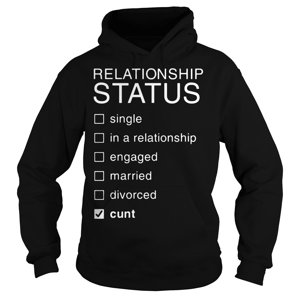 Relationship Status single in a relationship engaged married divorced Hoodie
